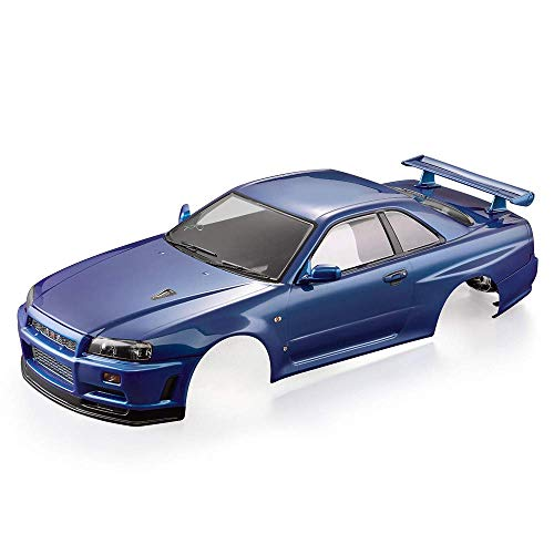 Goolsky Killerbody 48646 Nissan Skyline (R34) Finished Body Shell Frame for 1/10 Electric Touring RC Racing Car DIY -