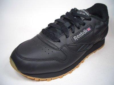 Reebok–CLASSIC LEATHER Vintage j86768negro tamaño 4