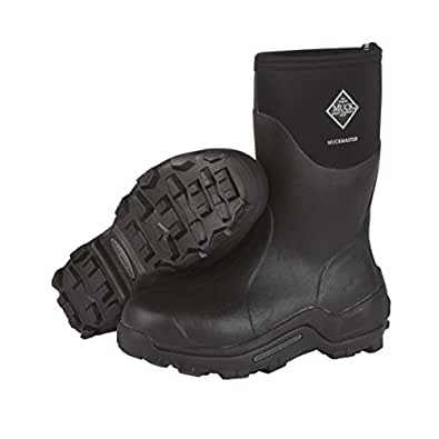 The Original MuckBoots MuckMaster Mid Boot,Black,10 M US Mens/11 M US Womens
