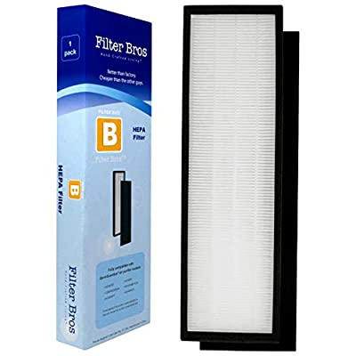 FLT4825 True HEPA Filter B Compatible with GermGuardian AC4825 / AC4825E / AC4825DLX Home Air Cleaner Purifiers, AC4300BPTCA / AC4850PT with Pet Technologies and AC4900CA, CDAP4500BCA, CDAP4500WCA