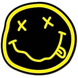 "NIRVANA smiley rock band Vynil Car Sticker Decal - 5"""