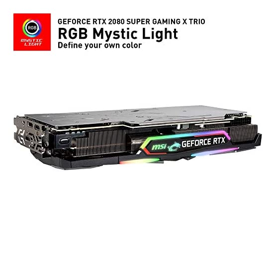MSI Gaming GeForce RTX 2080 Super 8GB GDRR6 256-Bit HDMI/DP Nvlink Tri-Frozr Turing Architecture Overclocked Graphics… 41 9uvMVQ%2BL. SS555