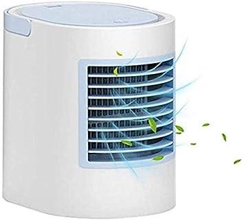 Kts Enfriador Portátil de Aire Evaporativo,Mini Refrigerador de Aire 4 en 1 Ventilador de Torre Ventilador de Aire Acondicionado Ventiladores El Ahorro de Energía/Azul ...