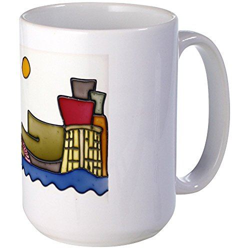 CafePress - Guggenheim Large Mug - Coffee Mug, Large 15 oz. White Coffee Cup