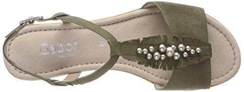 Gabor Sandalia Comfort Oliv Mujer para con Pulsera Sport Shoes Verde 6C1qfxw6F