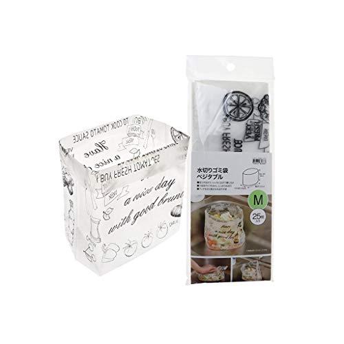 ❤️Jonerytime❤️25PCS Sink Garbage Bag Creative Drain Hole Cartoon Disposable Drain Trash Bag (White) ()
