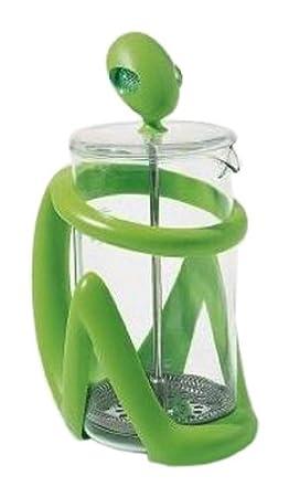 Alessi Inka - Cafetera de émbolo, color verde: Amazon.es: Hogar