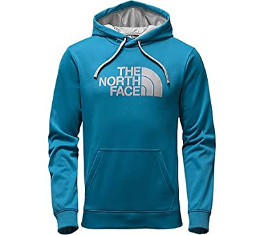 The North Face Surgent Half Dome Hoodie Men's Banff Blue/Mid Grey X-Large