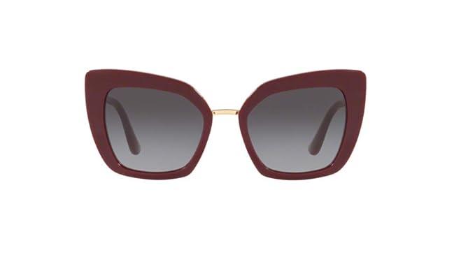 Dolce & Gabbana 0DG4359 Gafas de sol, Bordeaux, 52 para ...