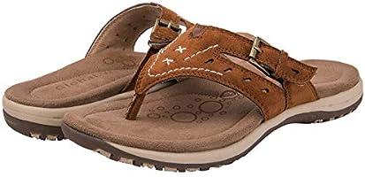 GLOBALWIN Women's Casual Indoor/Outdoor Sandal Flip Flop Comfortable Walking Thong Slippers