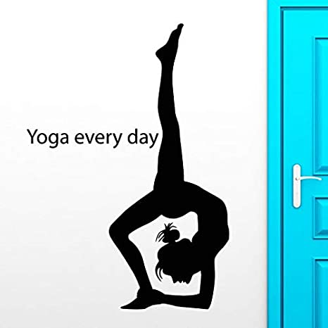 juntop Club de Yoga Sticker Decal Posters Yug Vinilo ...