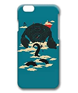 iPhone 6 Plus Case, iCustomonline Jack Designs Protective Hard Case Cover for iPhone 6 Plus (5.5 inch) 3D by mcsharks