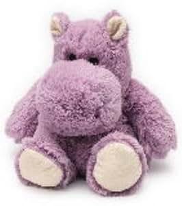 HIPPO JUNIOR - WARMIES Cozy Plush Heatable Lavender Scented Stuffed Animal