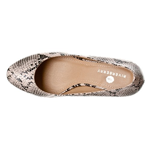 Pictures of Riverberry Women's Ruby Round Toe Kitten 6