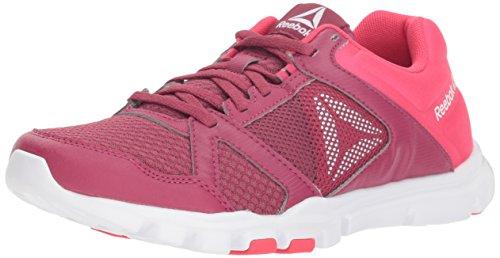 Reebok Women's Yourflex Trainette 10 Mt Cross Trainer, Berry/Twisted Pink, M US