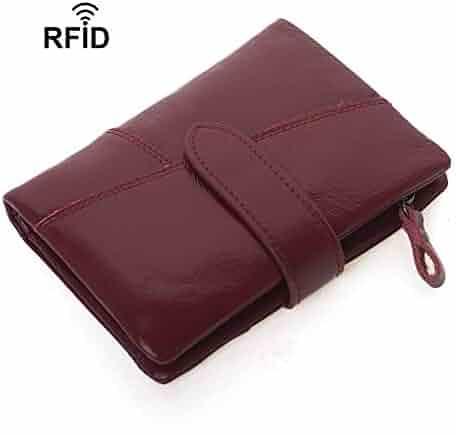 Flosky Men Women ID Credit Card Holder RFID Protector Money Clip Wallet Cards Case