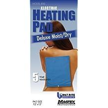 Bilt-Rite Mastex Health 800-220 Deluxe Moist/Dry Heat Pad, Blue