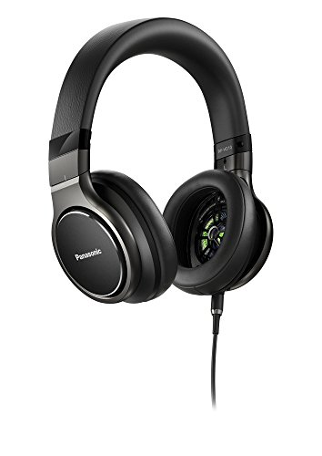 אוזניות ! Panasonic Premium Hi-Res Stereo Over-the-Ear Headphones with Mic + Controller RP-HD10
