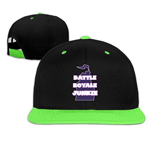 Battle Royale Junkie Boy and Girls Hip Hop Baseball Hat ()