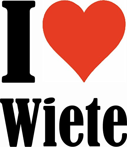 "Handyhülle iPhone 4 / 4S ""I Love Wiete"" Hardcase Schutzhülle Handycover Smart Cover für Apple iPhone … in Weiß … Schlank und schön, das ist unser HardCase. Das Case wird mit einem Klick auf deinem Sma"
