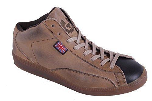 Scarpa Pizzo Belstaff Formato 19 Pelle Donna Vera Beige 37 Sneaker t6PqP