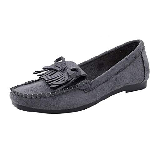 Model de de Cordones One Gris UFACE Lona de Model Zapatos Talla Sandalen para 2add77