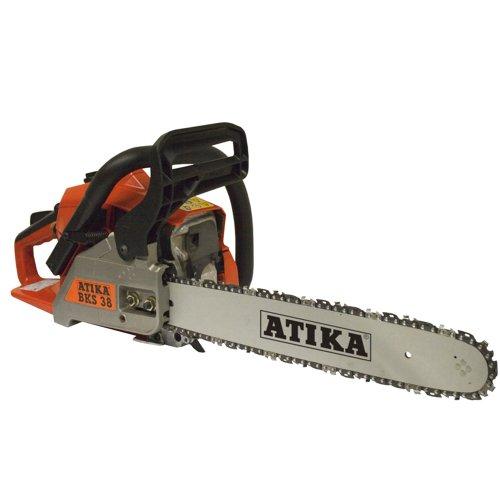 Atika 302326 Benzin-Kettensäge BKS38, 400 mm Schwert, 38cm³
