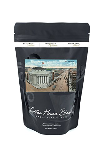 Winnipeg  Manitoba   Bank Of Montreal Exterior  8Oz Whole Bean Small Batch Artisan Coffee   Bold   Strong Medium Dark Roast W  Artwork