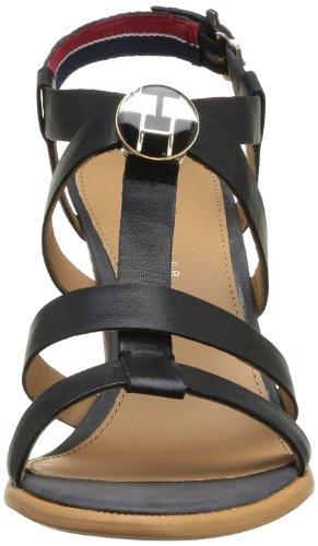 Joan Women's Noir Gladiator 990 Black Schwarz 3a Tommy Black Hilfiger TfnACwxqC5