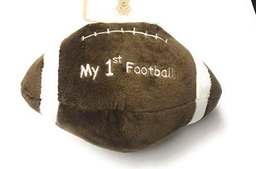 Kellybaby Soft Plush My 1st Football Toy and Rattle