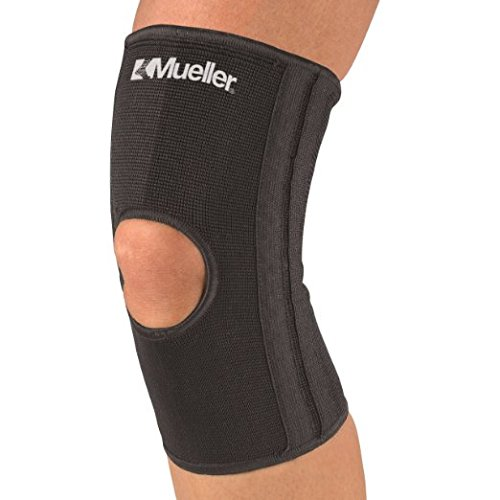 Elastic Knee Stabilizer (Mueller 6472A Elastic Knee Stabilizer Brace Sleeve Support Black L/XL)