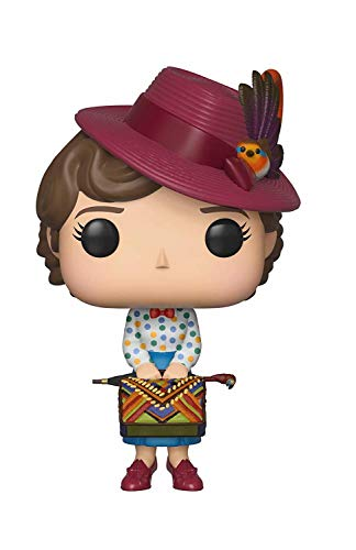 Funko Mary Poppins - Pop Mary with BAB, Multicolor, Talla Unica