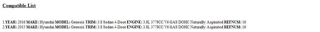 HYUNDAI 26320-3CKB0 OIL FILTER 263203CKB0