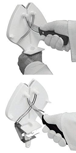 ERGO STEEL 3 Knife Edge Maintenance Sharpening Tool by COZZINIPRIMEdge (Image #3)