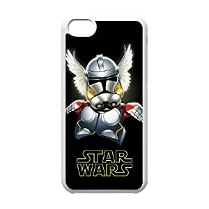 Hard Back Cover Protector Ipod Touch 6 Cell Phone Case White Star Wars Kkjmk Design Durable Phone Cases