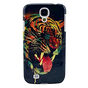 Terror Tiger Pattern Plastic Back Cover for Samsung Galaxy S4 I9500
