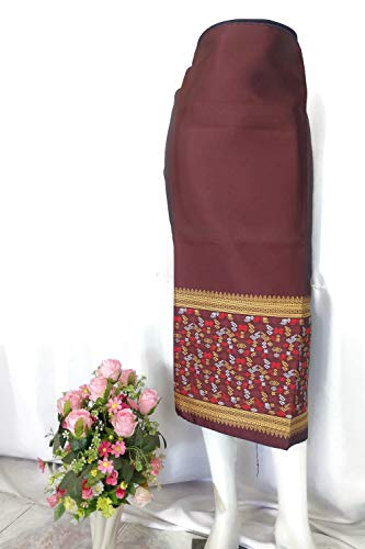 Lao Laos Traditional Silk Fabric for Costume