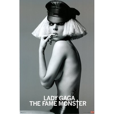 (22x34) Lady Gaga (The Fame Monster) Music Poster Print