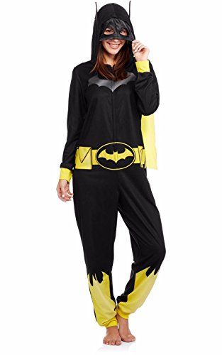 DC Batgirl Comics Women's Costume Union Suit Pajama