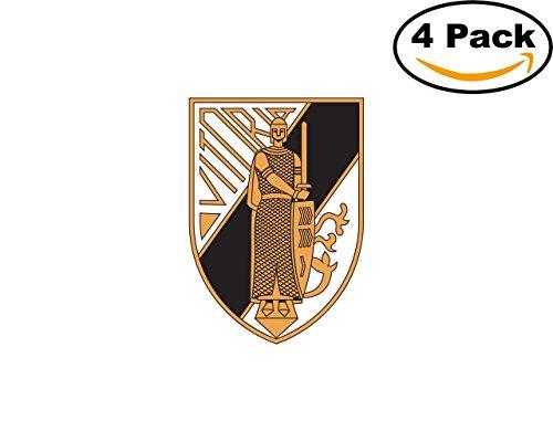 fan products of Vitoria SC Guimaraes Portugal Football Club Soccer FC 4 Sticker Decal 4X4