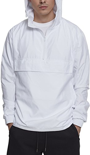 00220 White Hombre Blanco Pullover para Basic Urban Jersey Classic Tx60qc8w