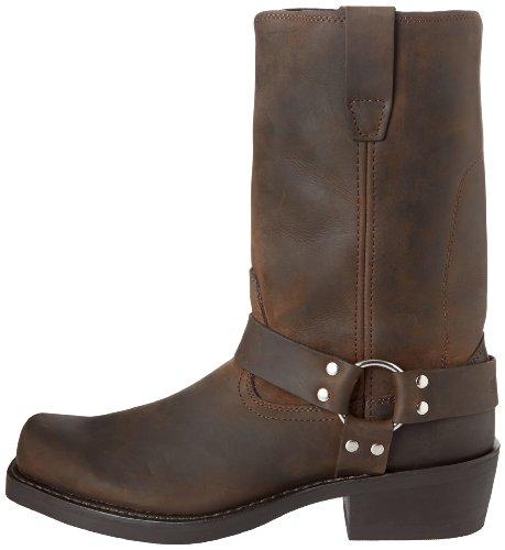 "Durango Men's DB594 11"" Harness Boot Distressed Brown 11 D - Medium"