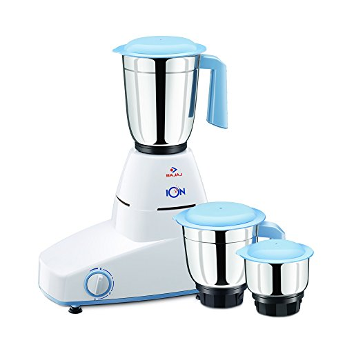 Bajaj Ion 500-Watt Mixer Grinder with 3 Jars