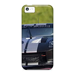 Premium Ford Gt Racing Black Racing Heavy-duty Protection Case For Iphone 5c