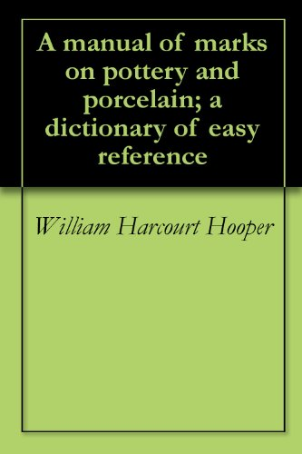 A manual of marks on pottery and porcelain a dictionary of easy a manual of marks on pottery and porcelain a dictionary of easy reference by sciox Image collections