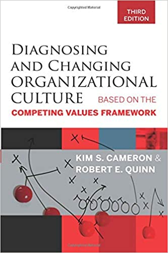 Diagnosing And Changing Organizational Culture Third Edition Based On The Competing Values Framework 3rd