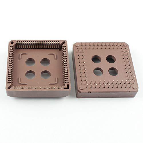 FidgetFidget 10Pcs New PLCC84 PLCC84 Pin DIP IC Socket - Pin Plcc 84 Socket