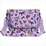Wildkin Purple English Riding Messenger Bag - Purple English Riding
