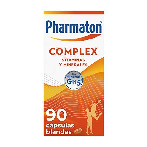 🥇 Pharmaton | Multivitamínico con ginseng | Complex 90 cápsulas | Ayuda a recuperar la energía