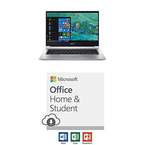 (Acer Swift 3 with Microsoft Office Home and Student 2019 Download | 1 person, Compatible on Windows 10 and Apple macOS)